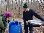 Sap Collection Tank by Center for Folklore Studies and Ohio Field School and Katherine Borland