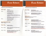 Events Schedule, 2017 Brochure, North End Super Reunion by Center for Folklore Studies and Ohio Field School, Ohio State University