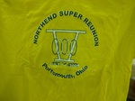 T-Shirt, 2005 North End Super Reunion by Center for Folklore Studies and Ohio Field Schools, The Ohio State University